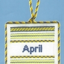 April Ornament
