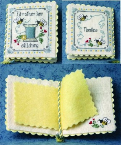 I'd Rather Bee Stitching Needlebook