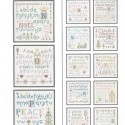 ABC Samplers of Christmas