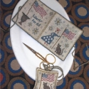 Lady Liberty Needlebook and Fob