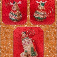JN Gingerbread Elf Mouse