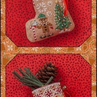 JN Gingerbread Elf Mouse Stocking