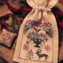 Fancy Winter Sewing Bag and Fob